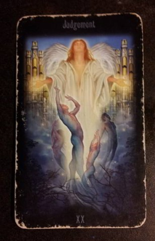 judgement legacy of the divine tarot
