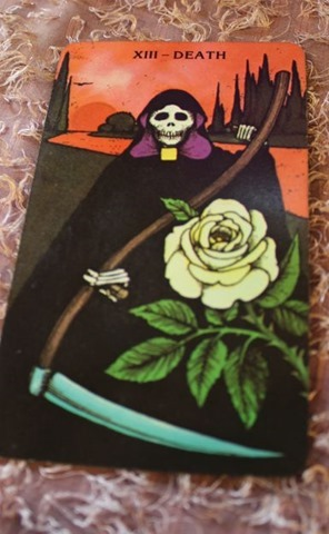 Death Morgan-Greer Tarot Deck