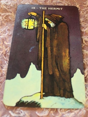 Hermit Morgan-Greer Tarot