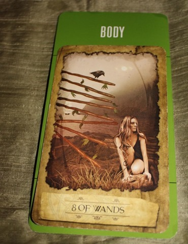 8 of Wands Body