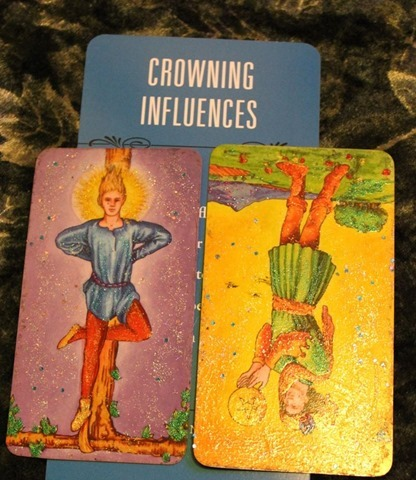 Hanged Man, Page Pentacles Rx