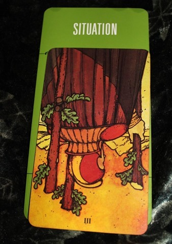 Reversed 3 of Wands