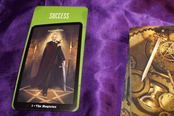 The Magician Steampunk Tarot